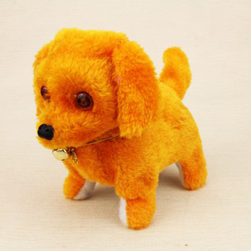 Hot sale Electric leash dog Plush Toys Music machinery remote control dog electronic toys For Children