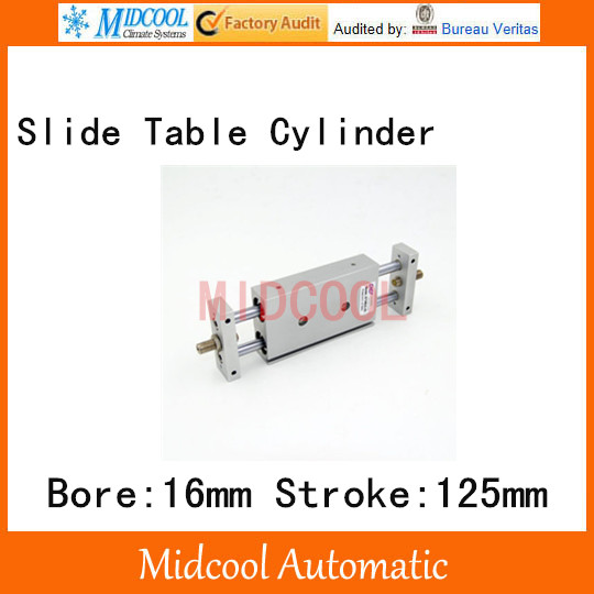 STMB slipway/cylinder double cylinder pneumatic components STMB16-125 bore 16mm stroke 125mm cylinder