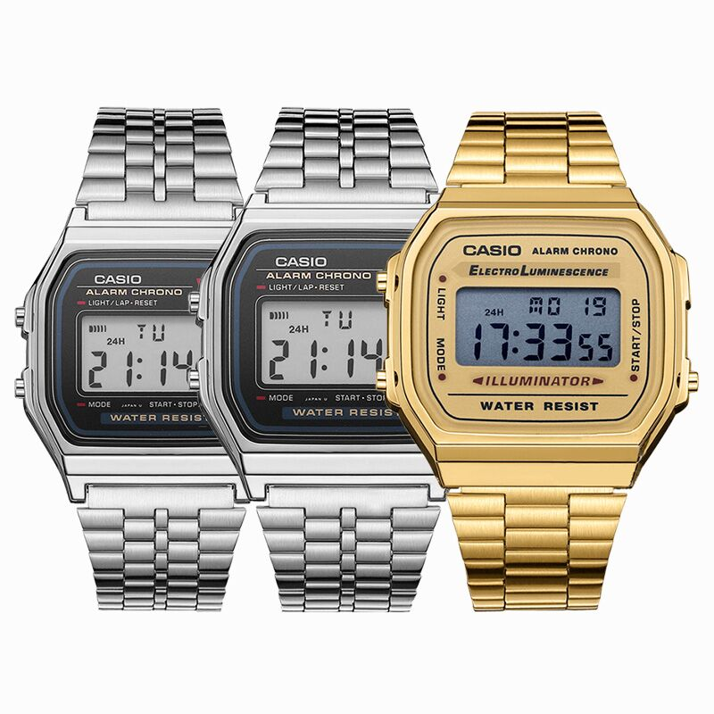 Casio Casual electronic watch A159W-N1 lepin 05036 1685pcs star series wars tie toys fighter building educational blocks bricks compatible with 75095 children boy gift