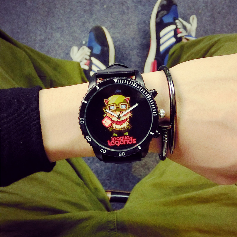 League of Legends Gaming Peripheral BGG Brand Creative Watch Teemo LeeSin Limited Edition Men Women Fashion Student Quartz Watch