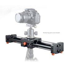 Commlite cs-v500 retrátil deslizante 50 cm dolly trilha vídeo estabilizador 100 cm de correr a distância real de carga até 8 kg para dslr