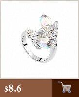 новая распродажа Dana Dana элемент кольца для женщин из естественно Австрии кристалл кольцо способа zirconia # rg90671