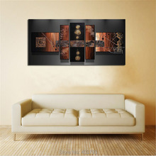 4 Fantasia painting modern abstract wall art