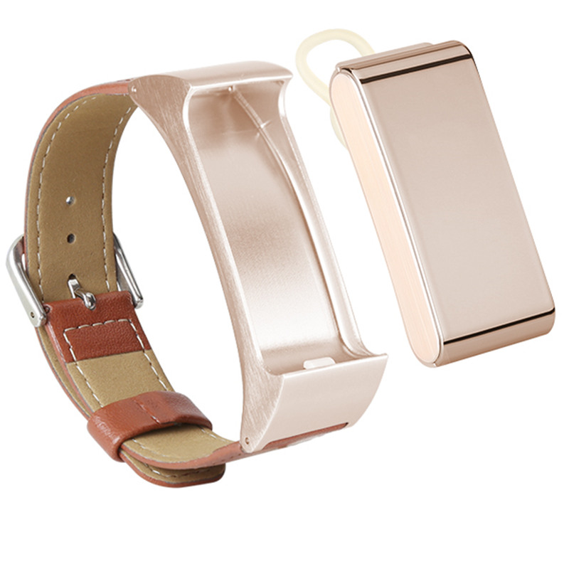 2in1 Smart Bracelet Talk Band with Detachable Bluetooth Earphone Support Pedometer wristband Sleep Monitor for Android IOS 3