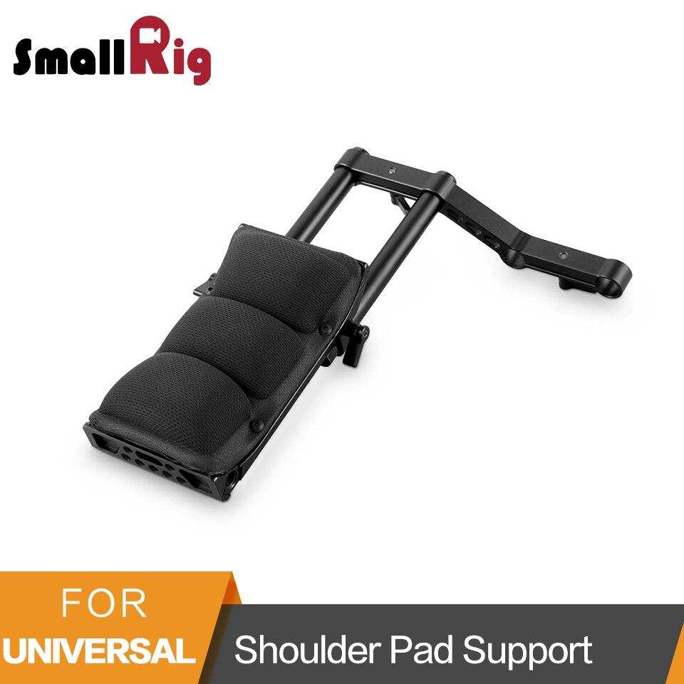 SmallRig Shoulder Pad with Aluminum Alloy Rods Cool Raiser for Video Camera Dslr Camcorders Shoulder Rig