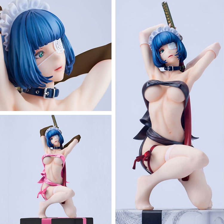 Japanese Anime shimi Ikkitousen 2style doctor Sexy Girl Action Figure Cartoon Doll PVC 25cm Figurine World