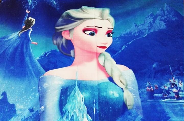 Frozen Elsa voodipesukomplekt