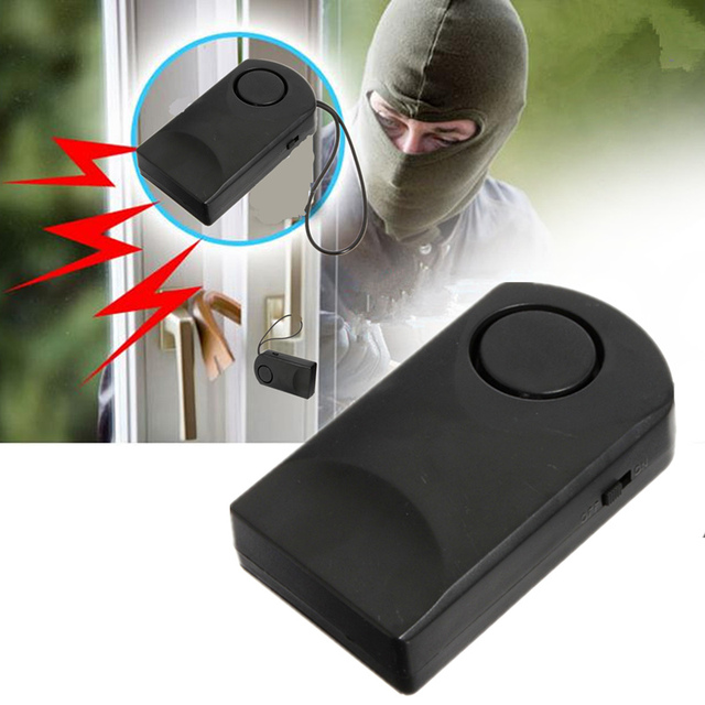 Portable 120DB Loud Wireless Touch Sensor Door Knob Entry Alarm ...
