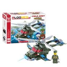 Здесь можно купить  New year Playmobile 251pcs/set Building Blocks Field Force aircraft Kids Toys Christmas Gifts for Children No original packaging  Models & Building Toy