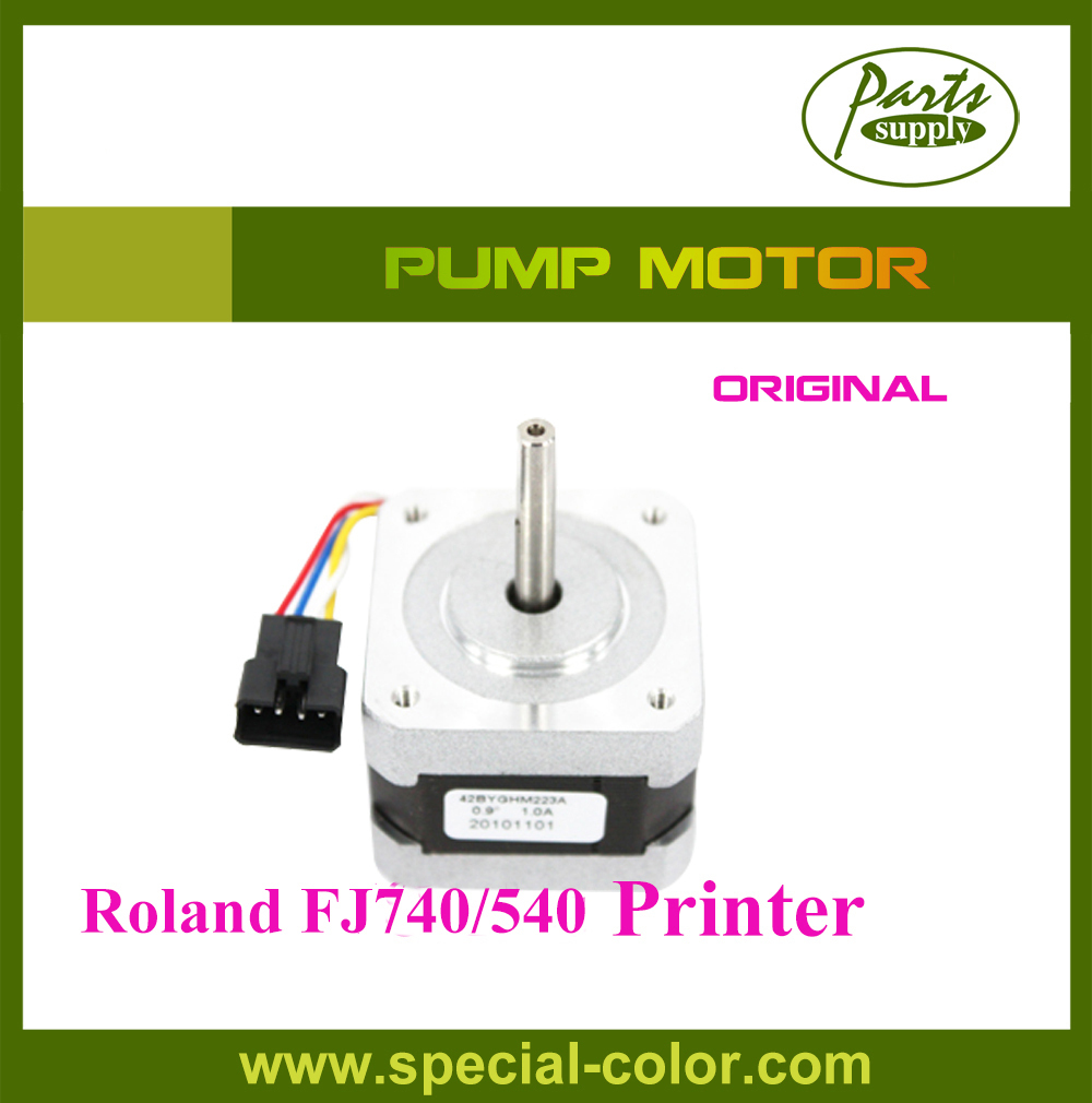 Roland Pump Motor FJ740 Ink Pump Motor FJ540 from Japan 2pcs lot original from japan roland block slider thk bearing for roland fj540 fj740 vj740 ra640 vp540 sp540 sj540 sj740 printer