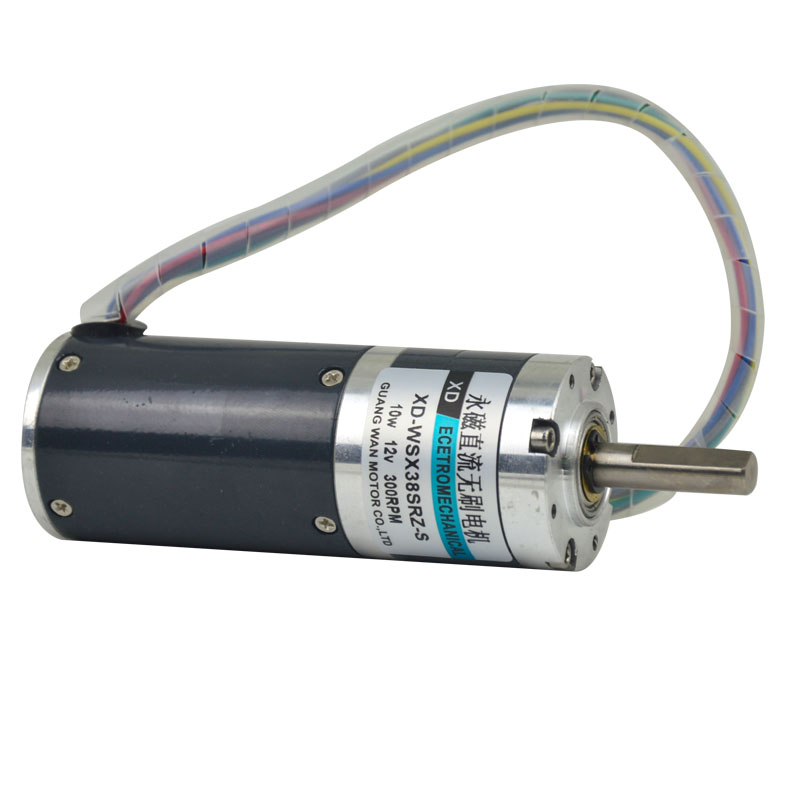 38SRZ DC 12V/24V Brushless Gear motor 10W Micro Motor Speed Regulating Motor safe no spark dc 12v permanent magnet brushless direct motor positive reversal 10w 4000rpm speed regulating motors