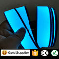 3cm x 200cm Flexible Blue Electroluminescent (EL) Tape Strip - with DC12V inverter