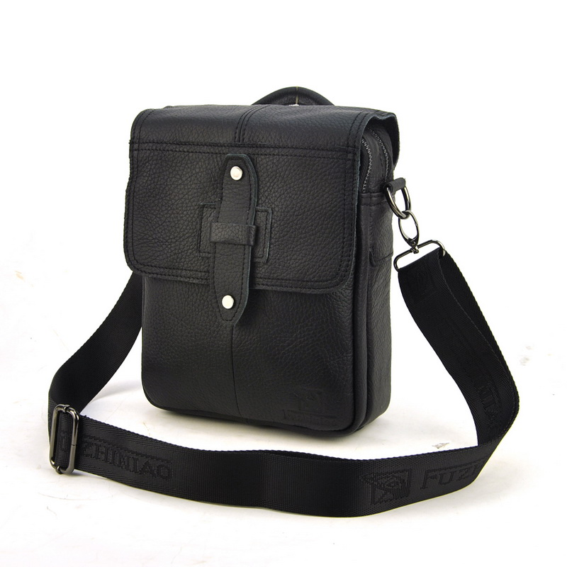 High Quality Genuine Leather Bag Fashion Design Crossbody Bags Men Ccowhide Small Messenger Classic Flap For Man ou ba shu fashion designer high quality genuine leather crossbody bags design bags cowhide leather small messenger bag for man