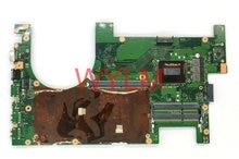 Original 60-NB07J0-MB1200 für G750J G750JY G750JYA G750JZ laptop motherboard G750JZ HAUPTPLATINE mainboard REV 2,0 SR1Q8 i7-4720HQ