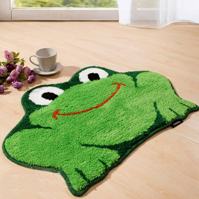 Nicerug Fahion Home Animal Design Slip Resistant Door Mat Cute Child Cartoon Shaped Soft Area