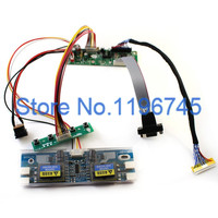 MT561 MD LCD Monitor Driver Board Kit W Keypad VGA Cable 4 C Inverter Built In