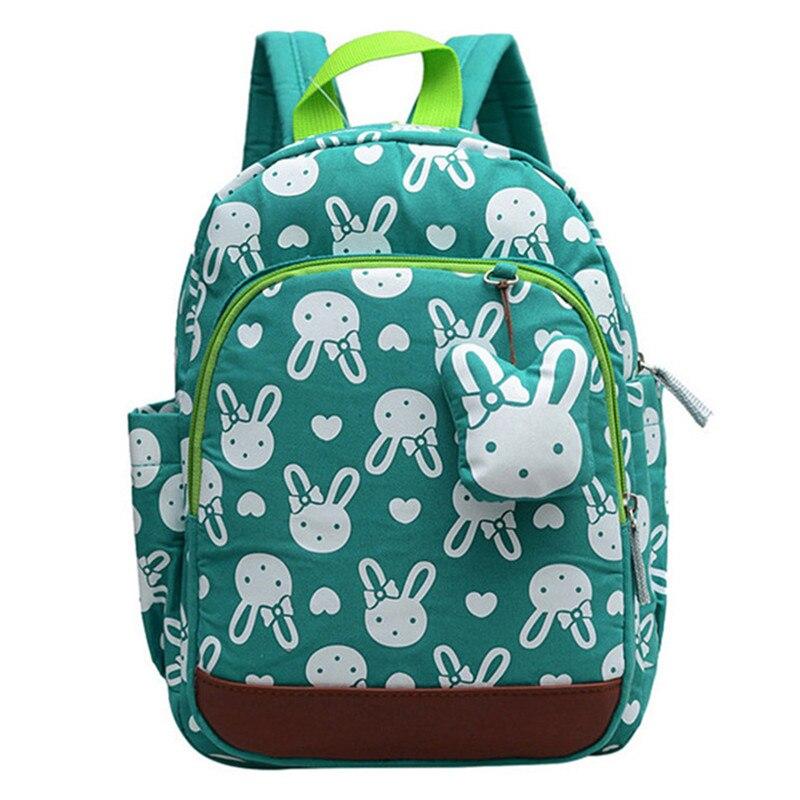 2018 School Backpack Anti-lost Kids Baby Bag Cute Animal Prints Children Backpacks Kindergarten School Bag Aged 1-3