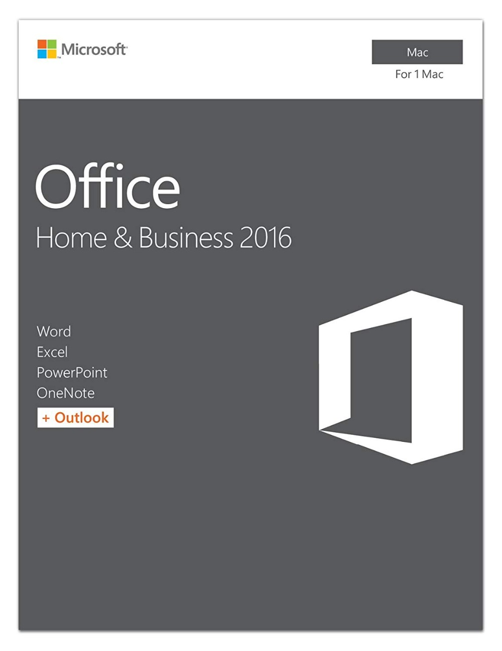 Microsoft Office Home And Business 2016 For Mac License | 1 User, For Mac Product Key Card/Serial Numbers,Download(China)