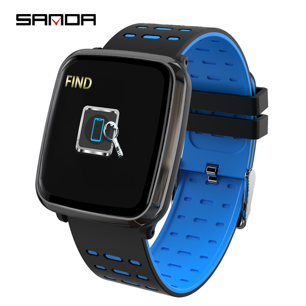 SANDA Fitness Tracker Smart Watch Men Bluetooth ECG PPG Heart Rate Blood Pressure Watches Women Sports Bracelet Smartwatch BandSANDA Fitness Tracker Smart Watch Men Bluetooth ECG PPG Heart Rate Blood Pressure Watches Women Sports Bracelet Smartwatch Band