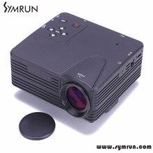 Symrun Freie Neue Verschiffen Kommen 640X480 Auflösung Multimedia Led Mini Home Theater Lcd 4 Karat Hause Projektor