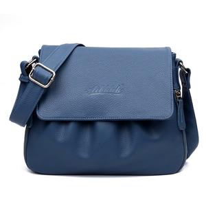 Image 4 - High Quality Genuine Leather Womens Handbags Casual Female Shoulder Bags Women Messenger Crossbody Bag Travel Bag Free Shipping