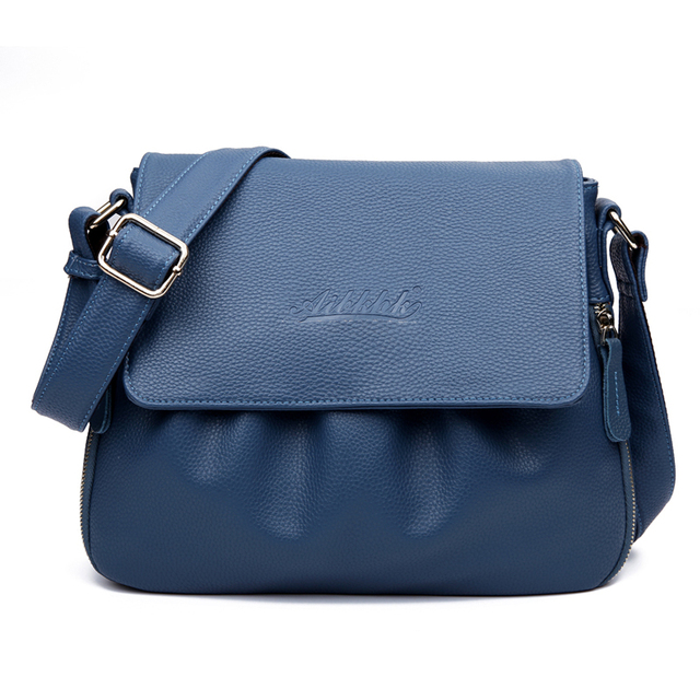 High Quality Genuine Leather Women's Handbags Casual ...