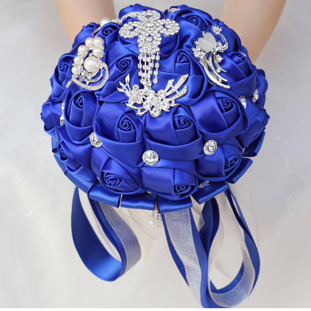 Tusels luksoze Royal Blue Tassels Diamond Dasma, Buqeta e Nusërve - Furnizimet e partisë - Foto 4