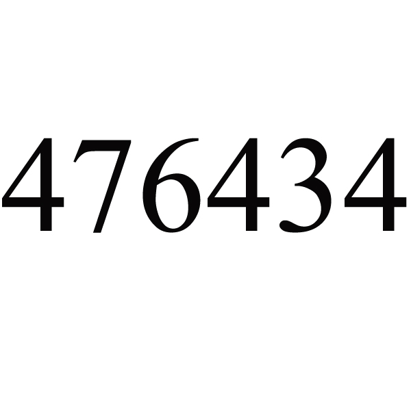 G476434 18/11/5