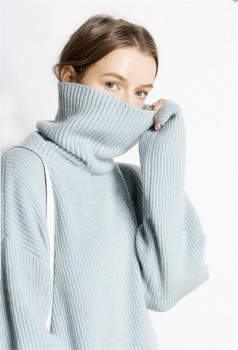 Hot Sale 5Colors Women Pullover and Sweater 100% Cashmere Knitted Jumpers Winter New Fashion Thick Warm Female Clothes Girl Tops 2
