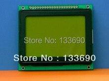 1 stücke/lot 12864 128*64 128X64 Grafik Dot LCD Module, Gelb Grün LCD,.KS0107/KS0108 oder Gleichwertig modul größe 78x70mm