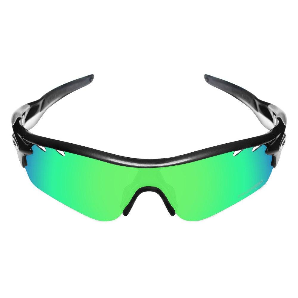77f568afa3 Mryok + polarizadas resistir mar reemplazo Objetivos repuesto para Oakley  radarlock path vented Gafas de sol verde esmeralda en Gafas Accesorios de  ...