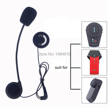 Microphone Headphone Accessories Suit for FDC Bluetooth Helmet Intercom BT Interphone Free Shipping