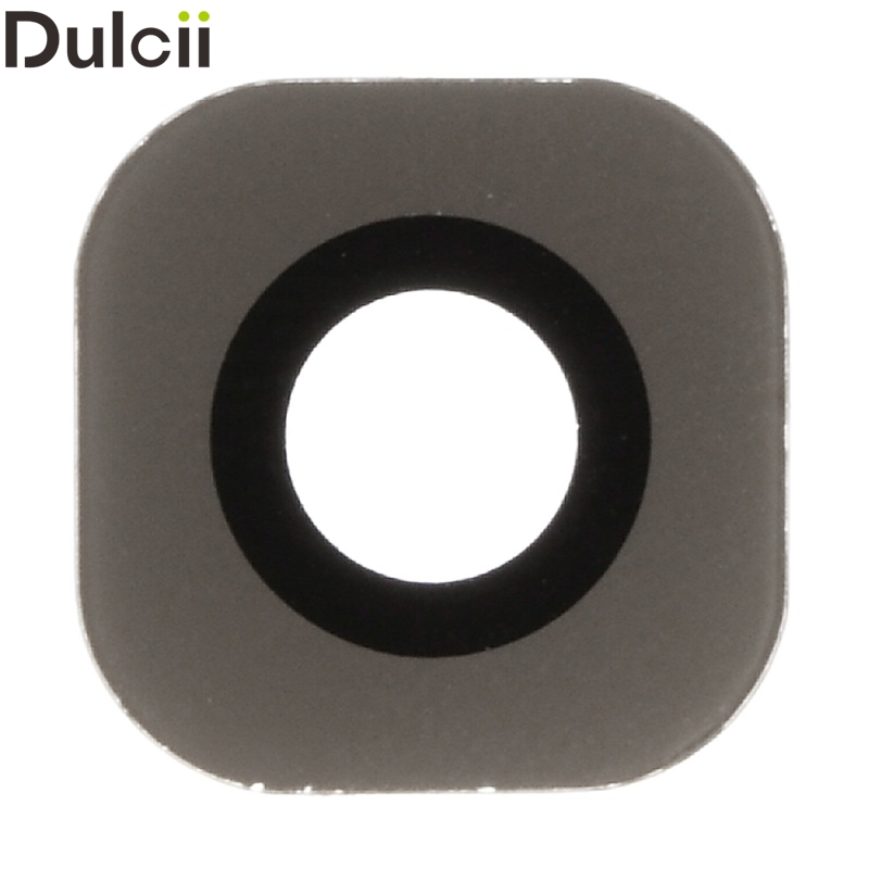 Dulcii for Galaxy S 6 Edge G925 OEM Rear Camera Lens Glass Replacement for Samsung Galaxy S6 Edge G925 (Glass Only) - Gold