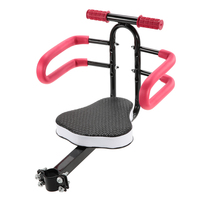 2018 Quick Release Front Mount Child Bicycle Seat Kids Saddle Electric Bicycle Bike Children Safety Front Seat Saddle Cushion