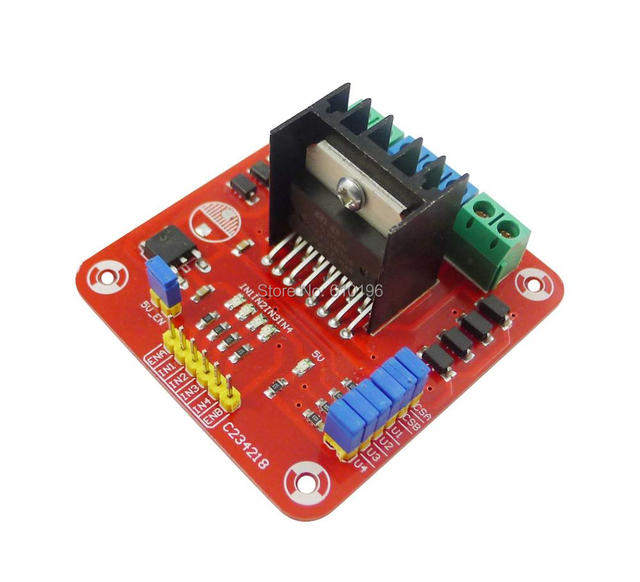 3pcs L298N Dual Bridge DC Stepper Controller Control Motor Driver Module Board,Wholesale