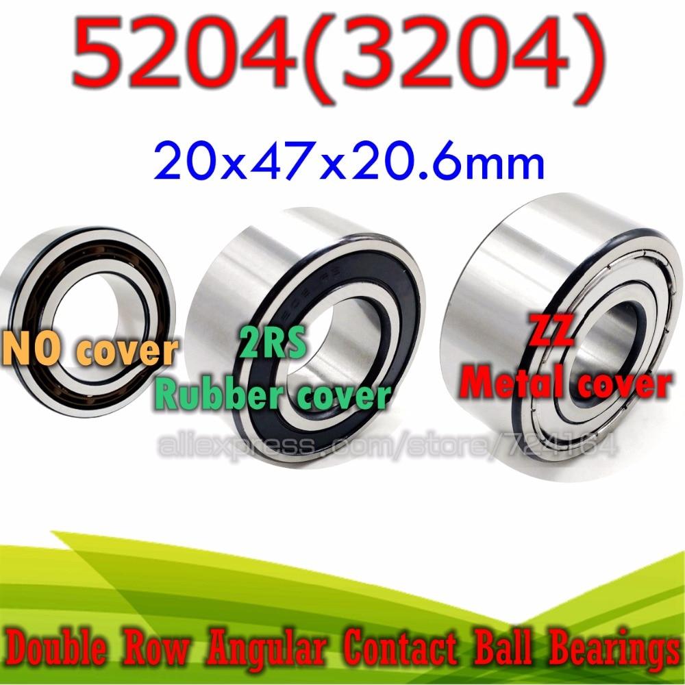 5204-2RS double row seals bearing 5204-rs ball bearings 5204 rs