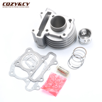 49cc 50cc GY6 39mm/13mm Cylinder Kit Piston Chinese Scooter Moped 139QMB Engine
