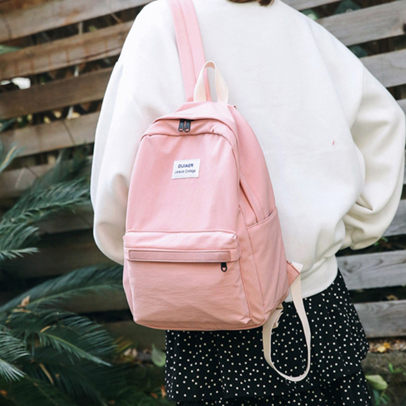 2019 New Fashion Backpack Schoolbags for Girl Teenagers Casual Preppy Style Travel Back Bag Simple Print Letters Rucksack2019 New Fashion Backpack Schoolbags for Girl Teenagers Casual Preppy Style Travel Back Bag Simple Print Letters Rucksack