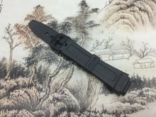 Original Watchband black silicone rubber bracelet for Casio AW-80/AW-82 watches accessories