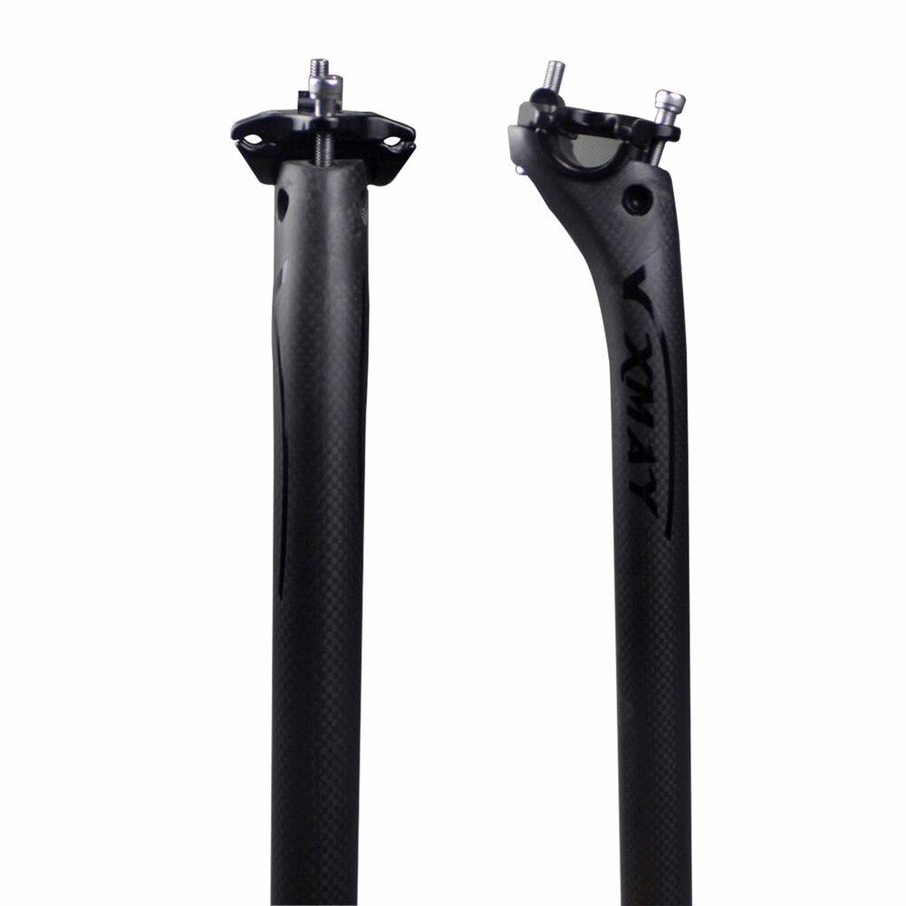 3K Carbon MTB Seatpost Road Bike Aero Bicycle Seat Post 27.2//30.8//31.6-350//400mm