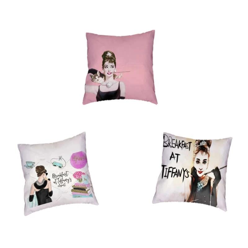 beautiful woman figure colorful background pattern cushion cover home office sofa decoration car pillowcase 45x45cm peach skin cushion cover aliexpress www aliexpress com