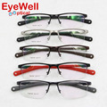 2017 New Fashion Vintage Eyeglasses Women Men Unisex Sports Eye Glasses Optical Frame Polarized UV400 Clip on Sunglasses 7388