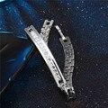 Fabulous Super Silver Color Charm Flower Bracelets For Women Crystal Beads Cuff Bracelets & Bangles Pulseras DIY Jewelry