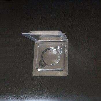1000pcs/lot 26mm PVC clam shell