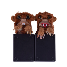 Toys Hobbies - Novelty  - Innovative Sneekums Toy Spoof Monkey Toys Pet Prankster Jitters   Surprise Gift Funny Monkey Fur Plastic Brown Finger Toys