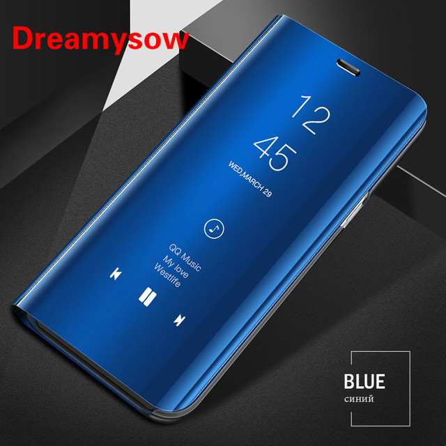 info for ee01f ae2b1 US $2.89 29% OFF|Dreamysow Clear View Mirror Smart Case For Oneplus 6 One  Plus 6 Leather Flip Stand For Oneplus6 six Luxury Smart Flip Cover Case-in  ...