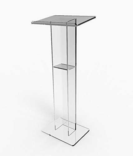 Fixture Displays Acrylic Podium Plexiglass Pulpit School Church Lectern Plexiglass
