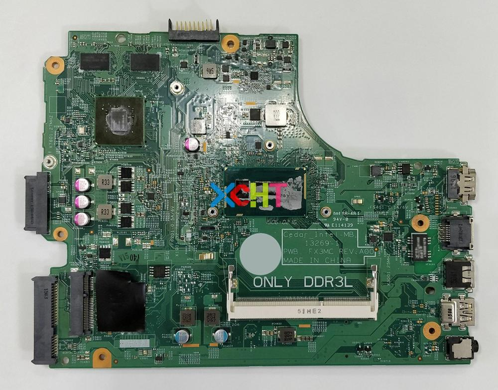 for Dell Inspiron 15 3543 3443 T7TC4 0T7TC4 CN 0T7TC4 i5 5200U 13269 1 FX3MC REV:A00 Laptop Motherboard Mainboard Tested-in Laptop Motherboard from Computer & Office