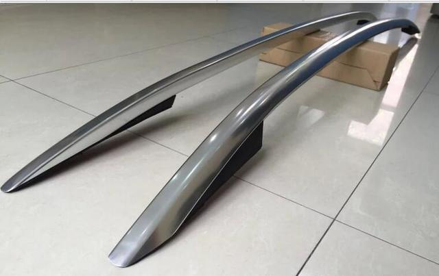 Skoda Rapid Spaceback Roof Rails High Quality Silver Oem
