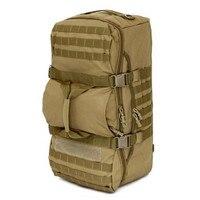 50L backpack travel combinations backpack Hiking Large Men Travel Bag wearproof Mountaineering Dual use Water proof Bucket Shou